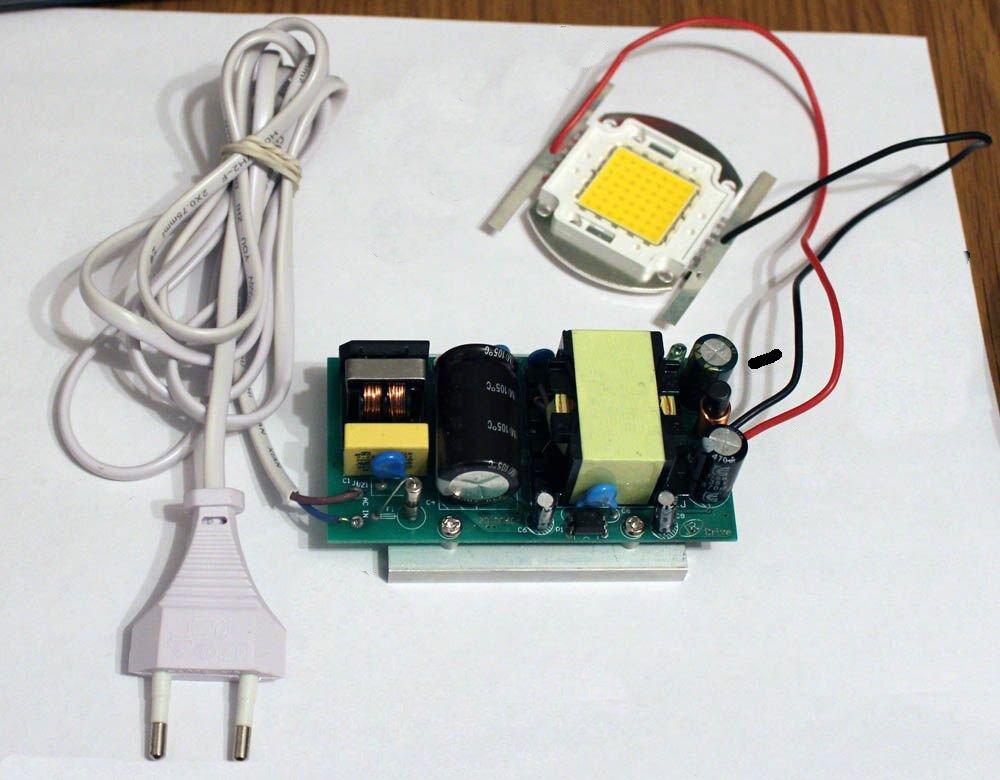 Светодиодные светильники на 220 вольт своими руками 97